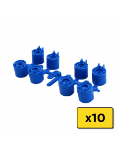 Weathermatic-77576-25 Degree Trajectory Nozzles (Blue) for 6000 Pro Series Rotors (Bag of 10) (H)