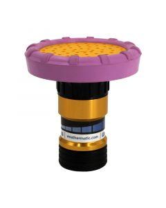"""Weathermatic-DN075CSP-L-CoolShot™ Plus Shower-Pattern Hose Nozzles, 3/4"""" hose thread [Lavender]"""