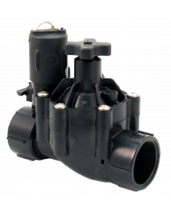 "Weathermatic-N-100SF-H Light Duty Nitro Plastic Valve (1"" SLIPxSLIP w/ Flow Control)"
