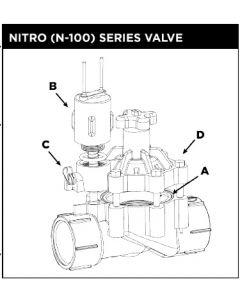 "Weathermatic-110-603SA - #A-2-3/8"" dia. Diaphragm Assembly"