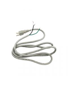 Weathermatic-PIGTAIL-Gray Line Cord w/ Standard US Plug (UL SJT Type)